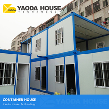 India Chennai Sandwich Panel Labour Camp Accommodation Affordable Custom Iso Furnished Prefab Portable Container Homes
