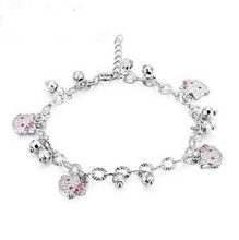 High quality latest friendship 925 sterling silver bracelet