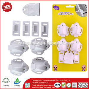 new version white mini magnetic lock