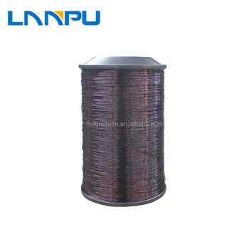 High Temperature Polyesterimide Insulation Enameled Aluminium 36 AWG Winding Wire