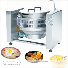 XYGT-H100 China supplier tiltable gas soup sauce jam boiling stockpot 100 litre boiler indian food cooking vessel kettle