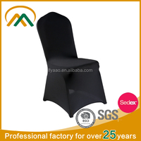 Wholesale cheap black chair covers for banquet chair KP-CV001