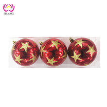 Factory wholesale painted christmas tree ball, dollar tree christmas ornaments, xmas decoration bauble