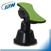 Hot sell soft silicone safety chuck phone holder 360 degree rotatable car mount cell phone holder