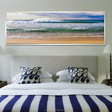Seascape Photo Printing Nordic Style Scenery Painting for Home Decoration