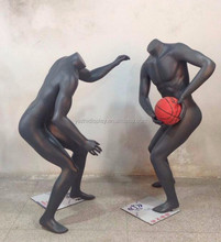 fashion playing basketball male sport mannequin