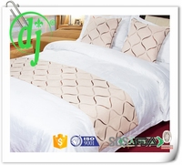 jacquard hotel quilt cover /hand embroidery designs bed sheets set