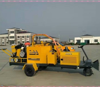 driveway airport road maintenance construction equipment highway concrete sealing machine road breakdown crack processing