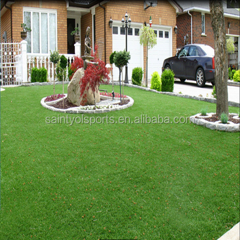 chinese curly potted artificial grass blue artificial grass