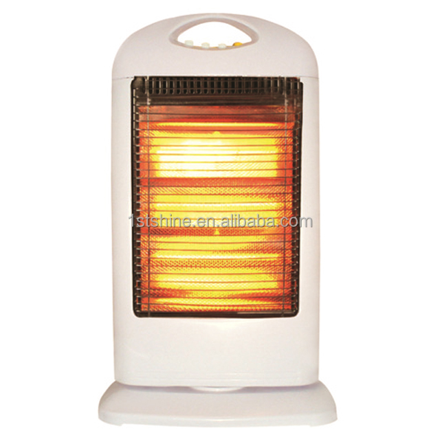 Electrical Halogen Tubes Infrared Heater With 3 Heat Setting 400W/800W/1200W