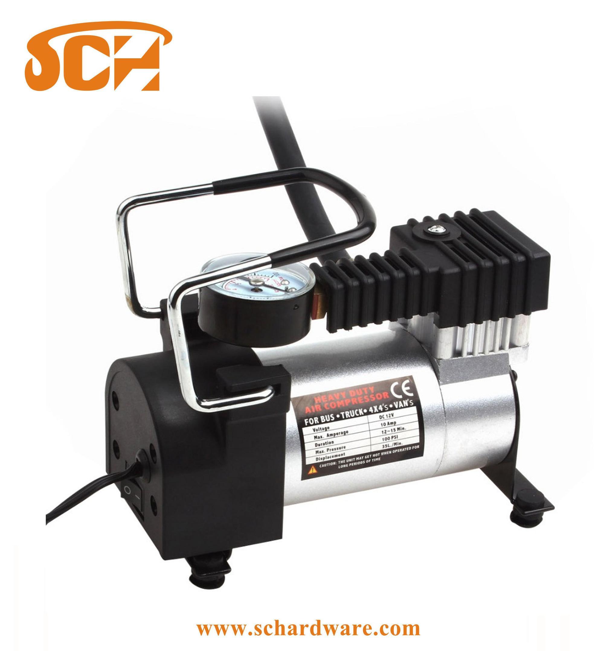 New Portable Digital Tire Inflator DC 12V 120W Car Electric Air Compressor Pump