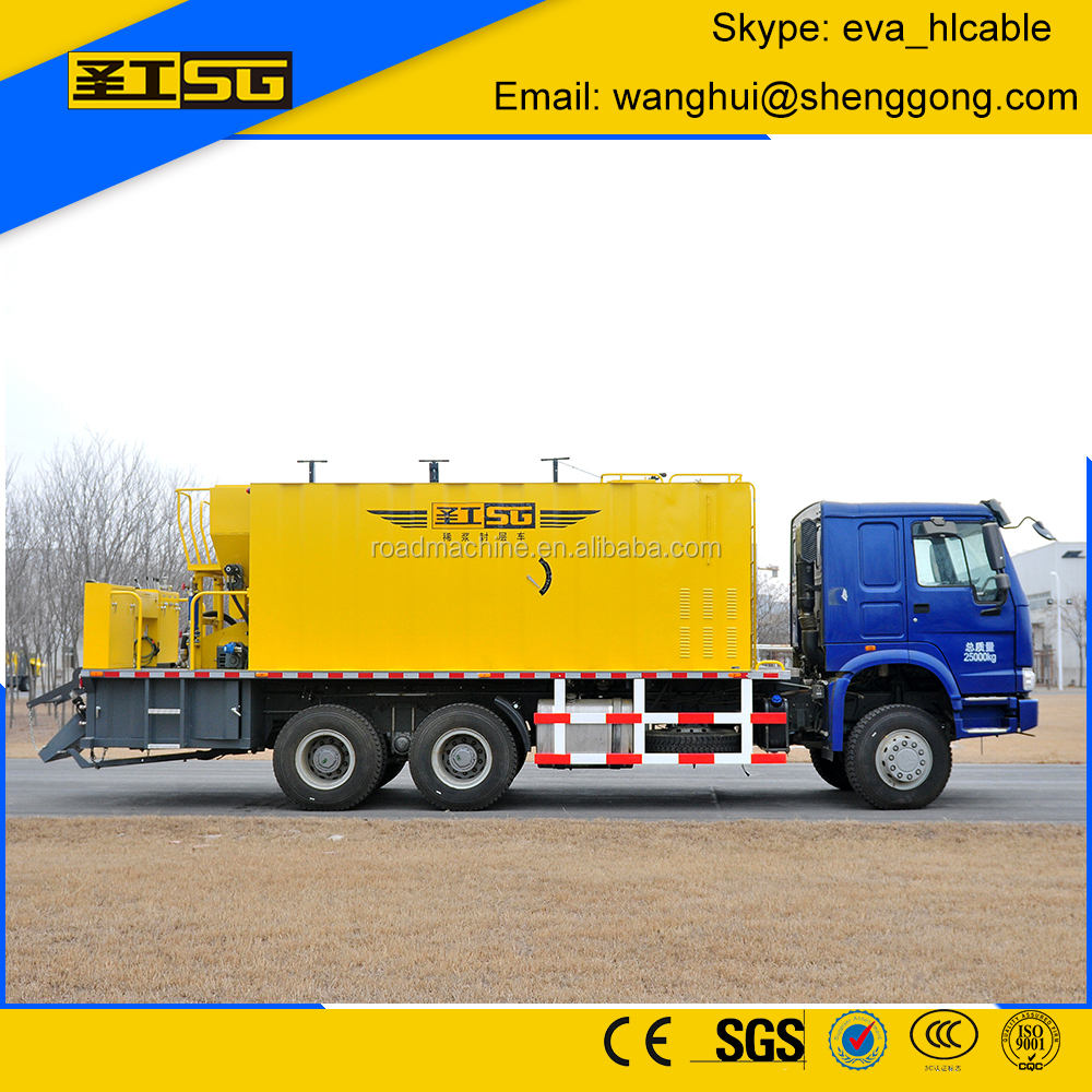 HGY5251TFC Modified Asphalt Microsurfacing Paver Truck