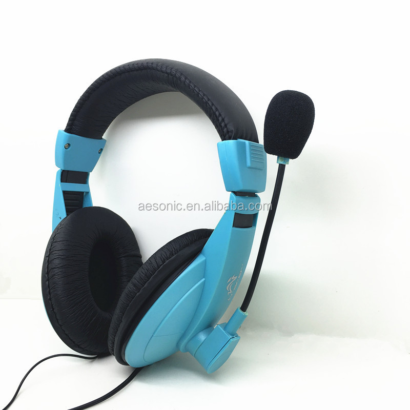 Wired Computer Headset with MIC & Volume Control