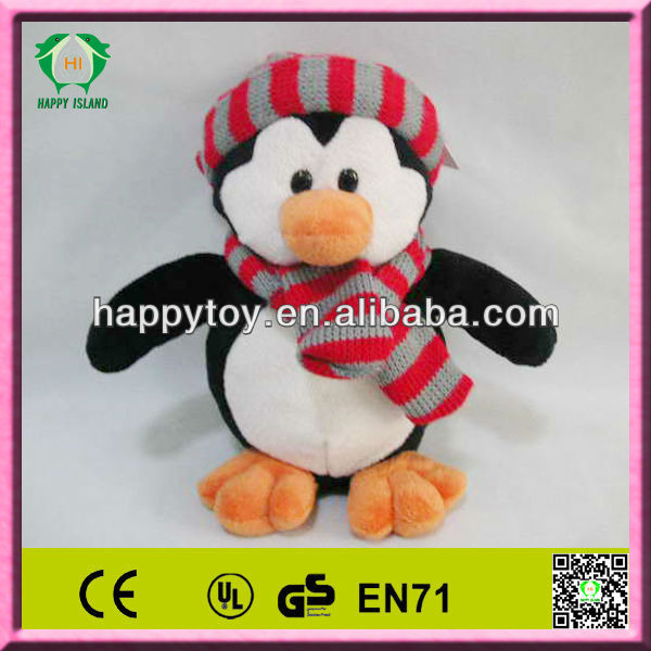 HI high quality plush penguin christmas toys small penguin stuffed toys for kids