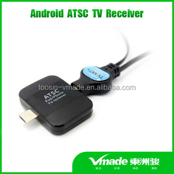 Vmade 2016 America Mexico ATSC android TV tuner Pad TV receiver mini USB tv tuner