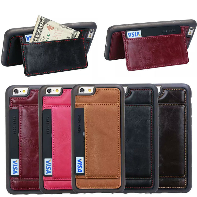 alibaba express wholesale card slot leather back case for iphone 6 , for iphone 6 hot case