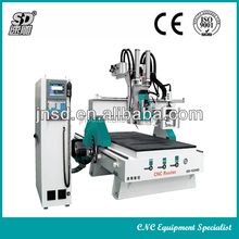 Machine CNC ATC,8 Pieces Knife Capacity Automatic CNC