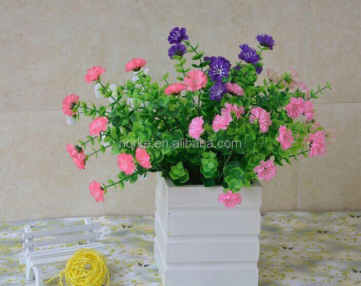 2014 Decorative Plastic Artificial Flower Bouquet wholesale
