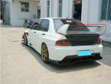 Carbon Fiber Rear Spoiler for Mitsubishi EVO 7 8 9