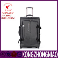 China factory nylon soft luggage bag trolley luggage bag for sale