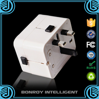 2016 new year promotion top quality travel plug adapter travel adapter and converter