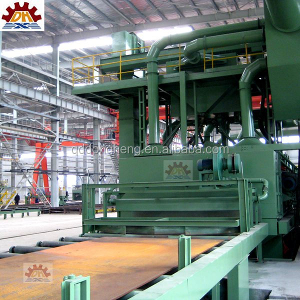 shot abrasive anti-rust buffing dust collection Roll Texturing Shot Blasting Machine/Roll Texturing Peen Strengthen Machine