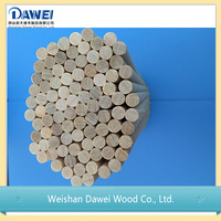 Small Dried Round Bamboo Sticks With