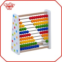 Latest modern popular abacus blocks wooden toys