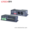 dmx multi channel led controller rgbw for 24v rgbw flexible led strip LT-840-6A