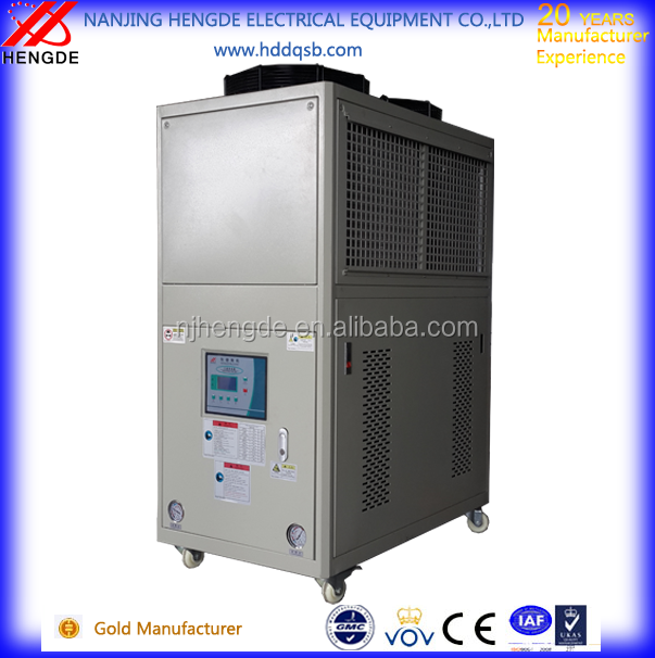3hp air cooled chillercold water for injection plastic machine