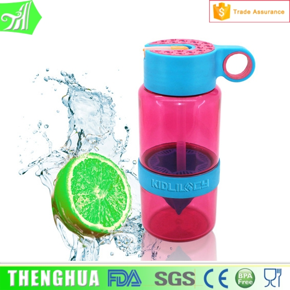 250ml plastic shaker bottle school new kid water bottles