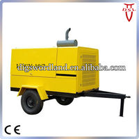 7 bar portable diesel screw air compressor LGCY10/7