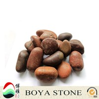 Wholesale Alibaba China garden floor tumbled pebble stone