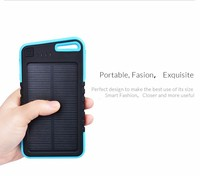 High Quality Solar Power Charger 5000mAh Solar Charger for iPad