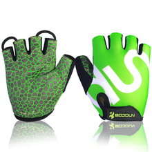 2015 new products safety equipment/ cycle half finger gloves/ half finger cycling gloves
