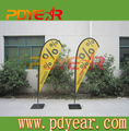 Outdoor Event Decoration Flying Teardrop Flag