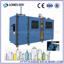 LS-A4 LONES 4 Cavity 2 Liter Juice Bottles Small Automatic Extrusion Blow Molding Machine