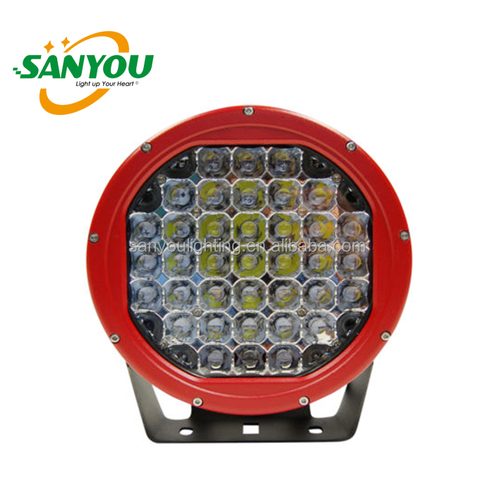 Top Sale Black/ Red automobile 4x4 accessories 9 inch 185w ARB intensity spot light 185w led driving off-road lights