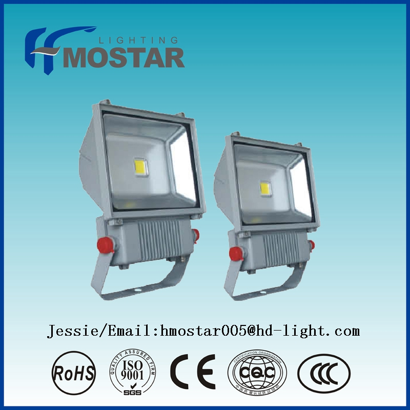 High lumen 150W led flood light with 150W led chips