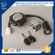 Wholesale black CG125 CDI125 motorcycle lock set for honda parts from Manufactory