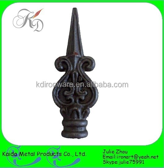 Wrought Iron Fence Spearheads/ Railheads
