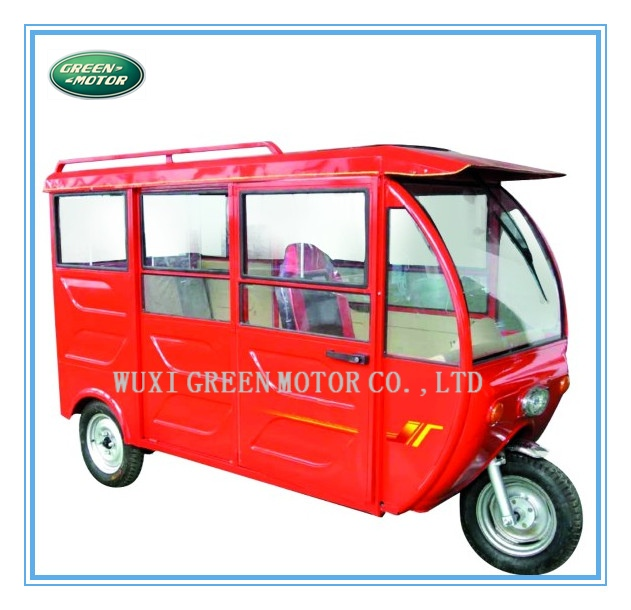 e-tricycle for cargo green power