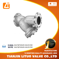 Class150/JIS 10K Flanged End Connection Y Type Strainer