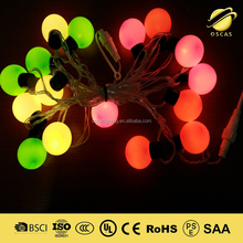 led bulb string light chain indoor and outdoor decorating