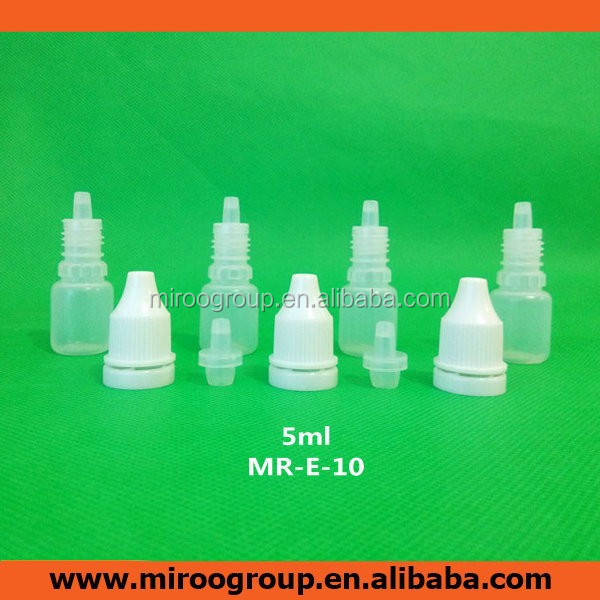 5ml small ldpe bottle plastic dropper bottle names of eye drops