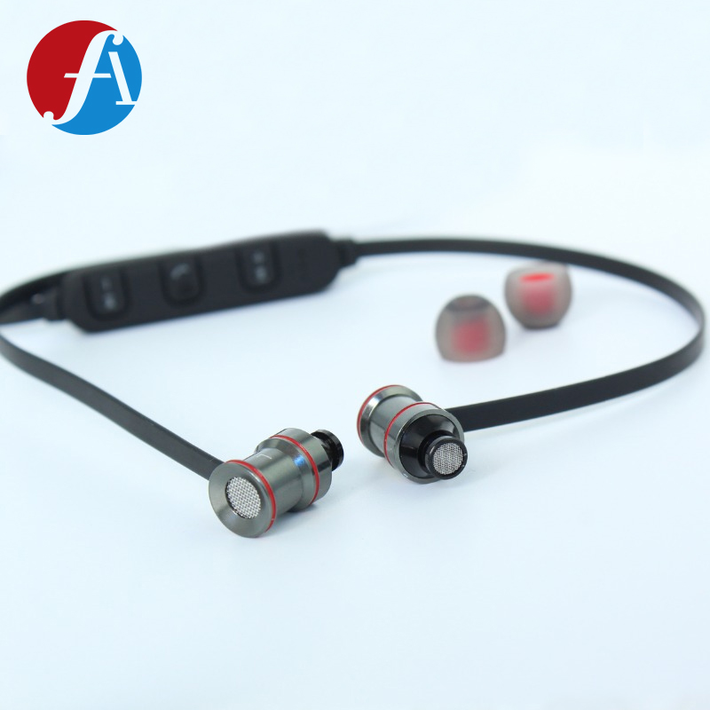 Oem Custom Metal Sport Wireless Bluetooth Earphones Headphones