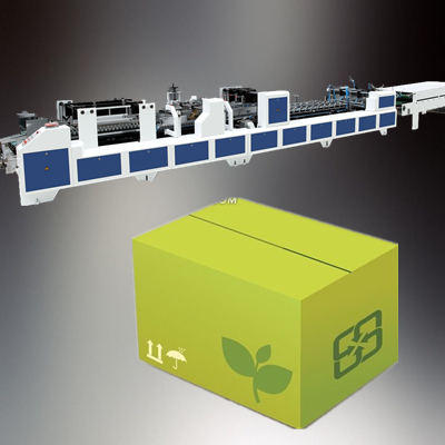 Packaging Machine of Used Corrugated Carton Box Making Machine