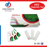 One step HIV test by blood/Diagnostics hiv 1+2 rapid test love health use