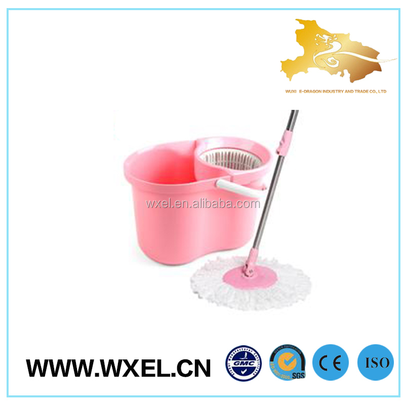 promotional low cost spin mop and bucket