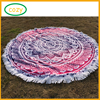 2017 Latest Microfiber Round Beach Towel